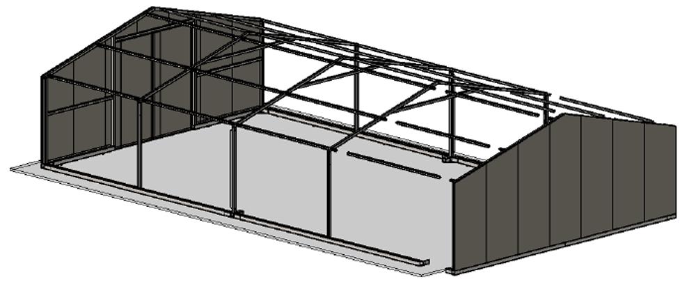 Bâtiment Kit 3d
